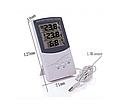 Гигрометр-термометр с выносным датчиком температуры TA 318 FN, фото 2