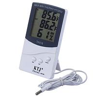 Гигрометр-термометр с выносным датчиком температуры TA 318 FN, фото 1