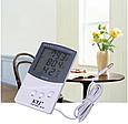 Гигрометр-термометр с выносным датчиком температуры TA 318 FN, фото 6