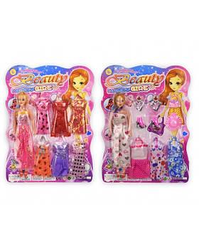Кукла 263H-22/263H-23 (1885191/92) 2 вида, с платьями и аксессуарами, р-р игрушки – 27 см