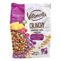 Мюсли Crunchy Vitanella c фруктами, 350 г - Диетические продукты питания Разные вкусы
