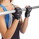 Перчатки для фитнеса женские MARATON 16-10027D (PL, PVC,открытые пальцы, р-р S-L), фото 2