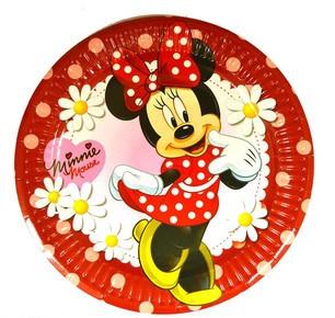 """Тарілки паперові """"Мінні Маус"""", 10 шт, Набор тарелок """"Минни Маус"""""""