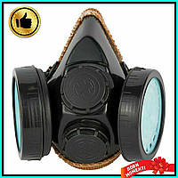Респиратор противопылевой фильтра,средство защиты органов дыхания,Респиратор полумаска,распиратор + ПОДАРОК