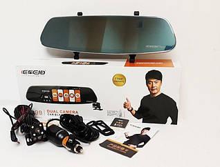 Видеорегистратор зеркало Eken DVR A99 Full HD,G-sensor камера заднего вида, авторегимтратористратор
