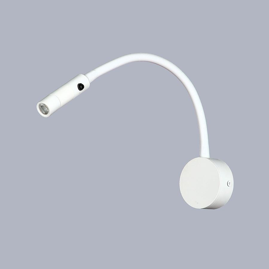 Светодиодный прикроватный белый светильник