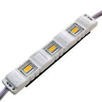 LED модуль BIOM SMD5630 1.5Вт 6500K 12В IP65 с линзой