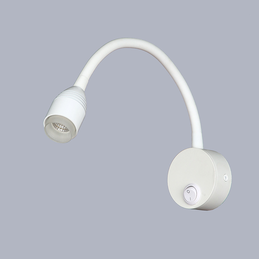 Прикроватная светодиодная белая бра