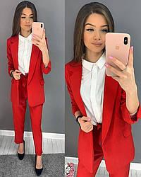 Брючный костюм (пиджак+брюки)