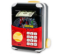🔝 Детский сейф с электронным кодовым замком, для детей | Спайдермен | копилка детская с доставкой | 🎁%🚚