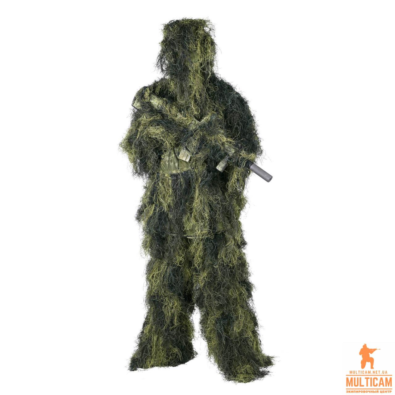 Маскувальний костюм Helikon-Tex® Ghillie Suit - USMC Digital Woodland