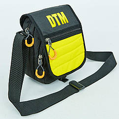 Сумка вертикальная маленькая через плечо DTM 505-E (полиэстер, р-р 15,5х19х9см, цвета в ассортименте)