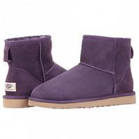 Женские сапоги UGG Classic Mini Bling violet