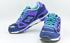 Кроссовки Health 5088S-2 размер 37-45 темно-синий-фиолетовый