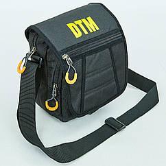 Сумка вертикальная средняя через плечо DTM 605C (полиэстер, р-р 23х18,5х10см, цвета в ассортименте)