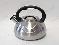 Чайник Peterhof PH 15649 со свистком 3л, фото 1