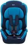 Автокрісло Bair Alpha 1/2/3 (9-36 кг) DA1929 темно-синій, темно-бірюзовий, фото 2