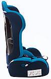 Автокрісло Bair Alpha 1/2/3 (9-36 кг) DA1929 темно-синій, темно-бірюзовий, фото 4