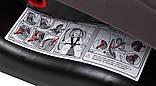 Автокресло Bair Omega 1/2 (9-25 кг) DO2435 черный - серый смоки, фото 10