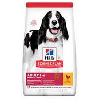 Сухой корм Хиллс Hills Adult Medium для собак средних пород с курицей 14 кг