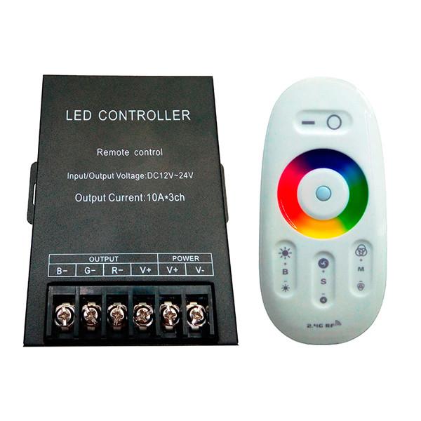 Контроллер BIOM 30А RF сенсорный Белый 12В RGB