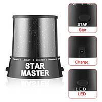 Проектор - ночник звездного неба Star Master c блоком питания, ночник, Star master, проектор, проэктор звездное небо