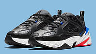 Оригинальные мужские кроссовки Nike M2K Tekno (найк сникерсы монархи м2к техно кожаные)