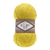 Пряжа Alize Cotton Gold Tweed 110 желтый