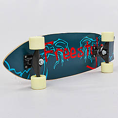 Скейтборд в сборе (роликовая доска) 818 (колесо-PU, р-р деки 68х21х1,2см, цвета в ассортименте)