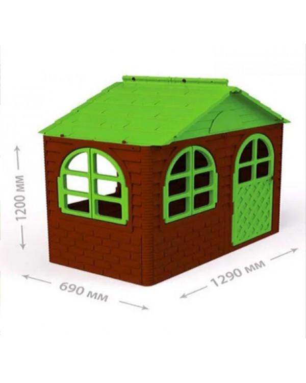 Будинок з шторками 02550/14 Игровой дом со шторками, домик будиночок Doloni