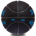 Мяч баскетбольный резиновый №7 SPALDING 83306Z EXTREME SGT 8-PANEL (резина, бутил, черный), фото 2