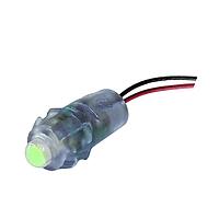 Светодиод быстрого монтажа BIOM 0.1W Зелёный 12V IP65