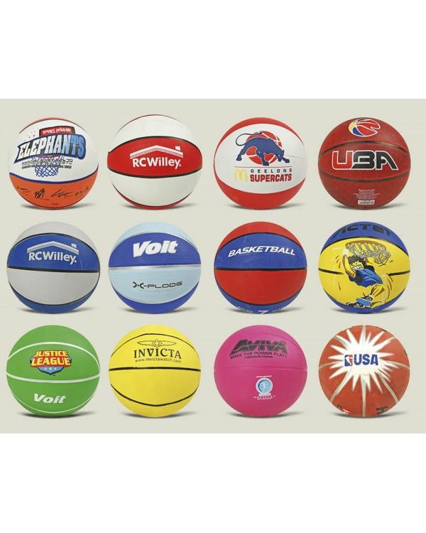 Мяч баскетбольный BB0102 размер №7, цветной 580 г