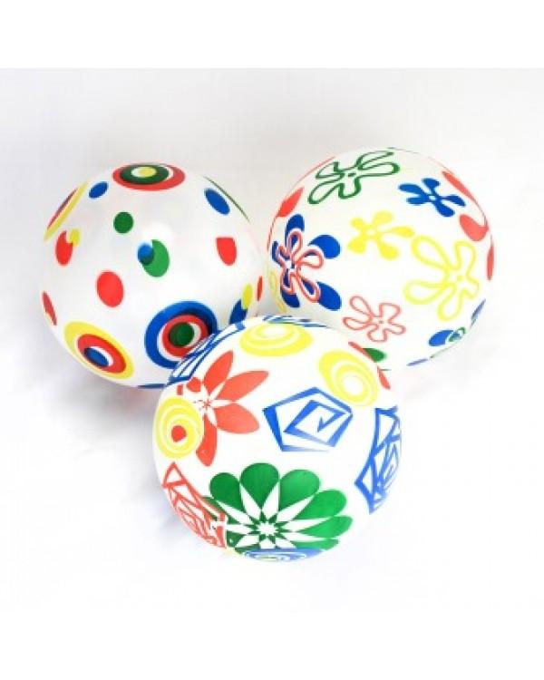 """Мяч 9"""" BT-PB-0112 абстракция 4в.60г сетка /300/"""
