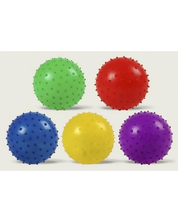Мяч GM1710394 с шипами, резиновый 16см 80гр