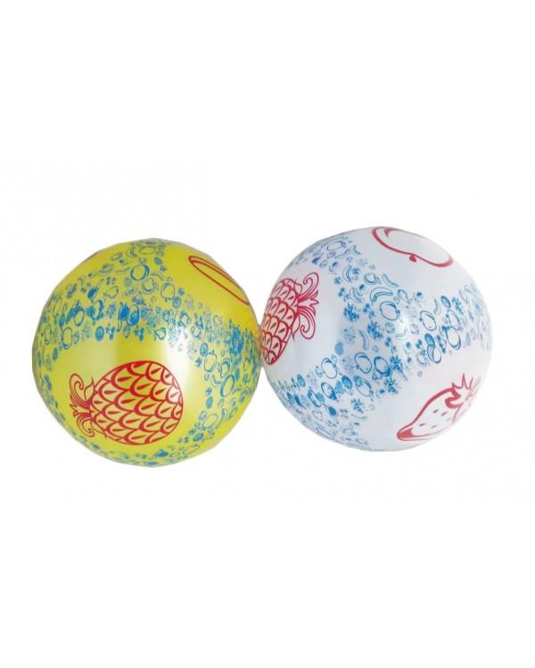 """Мяч резиновый CL12-022 """"Фрукты"""" ассорти, 9"""" 60g"""