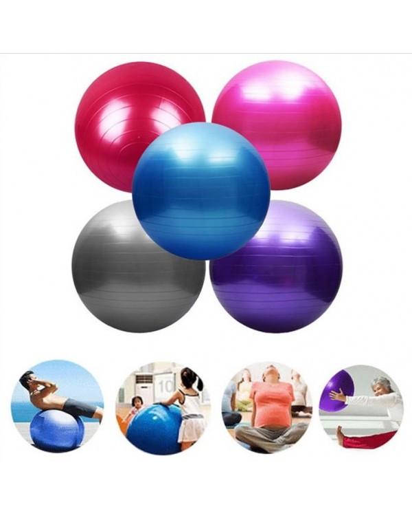 Мяч для фитнеса CO9002 75 см 900 грамм в коробке 4 цвета
