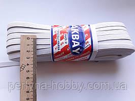 Гумка білизняна біла 1см -9мм см.Туреччина ціна  моток, 50 метрів