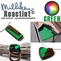 Зелёный краситель изумрудный  Реактинт(Reactint USA, Milliken) высококонцентрированный для смол и полиуретанов