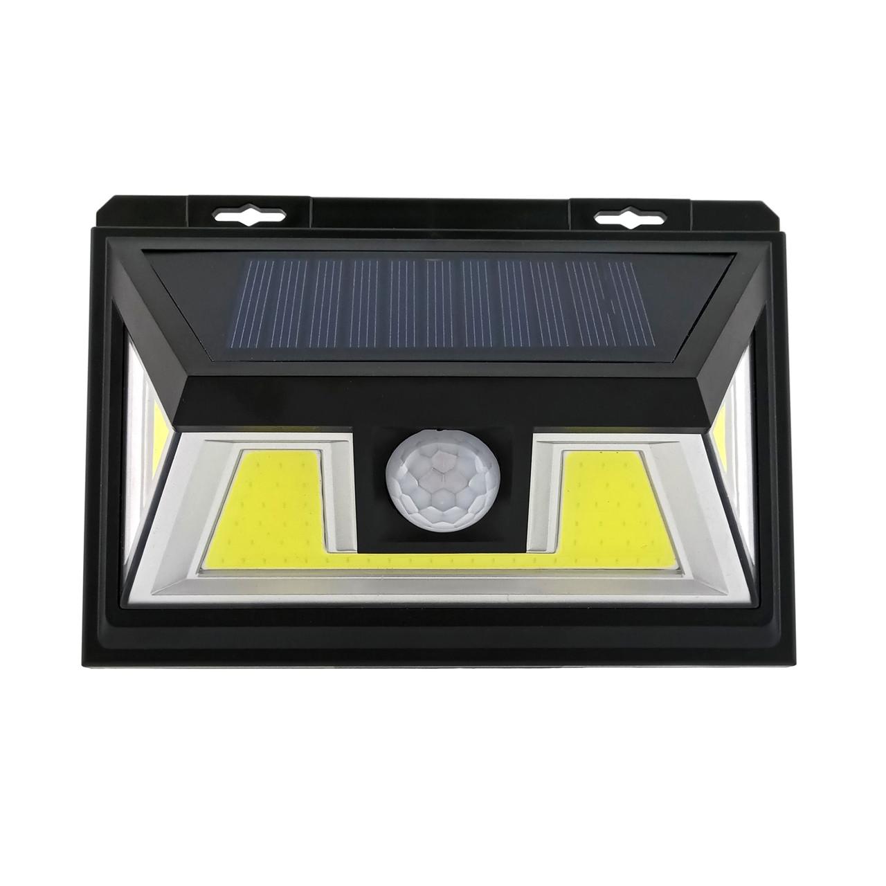 LED светильник на солнечной батарее VARGO 10W c датчиком