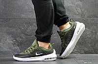 Мужские кроссовки Найк, Nike Air Max Axis,зеленые 42,44,45р
