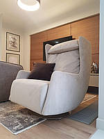 Кресло серое Blanshe TATI