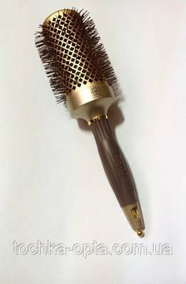 Брашинг для волос керамический SALON ion  Gold 55