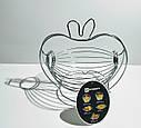 Фруктовница подвесная корзина для фруктов Яблоко GA Dynasty 1028, фото 4