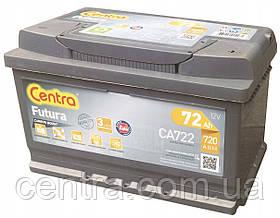 Автомобильный аккумулятор Centra 6СТ-72 FUTURA (CA722)