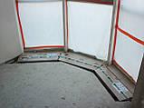 Декор радиаторв пол КПТ 390.1750.80/125. Для большого панорамного остекления. Дизайн радиатор. Гарантия 5лет, фото 9