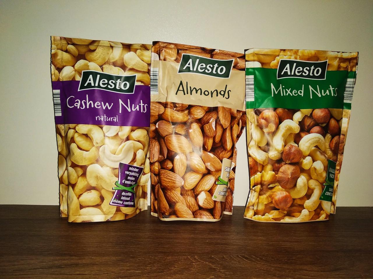 Alesto Mixed Nuts мікс горіхів: фундук, волоський, кешью 200 гр.
