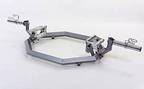 Гриф трэп восьмиугольный или рама для становой тяги AF5001 SUPER HEX TRAP (р-р 168x80x29см, d-5см)