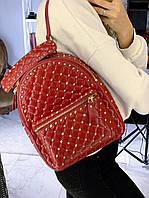 Жіночий Рюкзак Valentino Rockstud Spike (репліка), фото 1