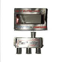Сплиттер-разветвитель 1/3-way с проходом по питанию Germany.